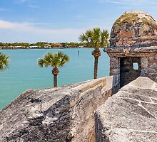 Castillo adn Matanzas Bay by Kenneth Keifer