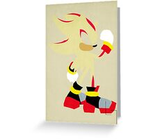 Hyper Shadow Greeting Card