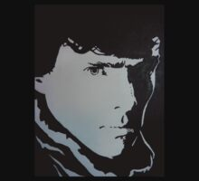 Sherlock Benedict Cumberbatch Pop Art by LouLouD123