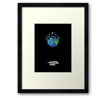 """""""The Crawling Chaos"""" Framed Print"""