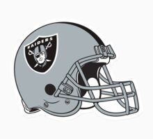 "NFL… Football ""HELMET"" Oakland Raiders by artkrannie"