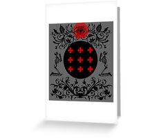 Occult theme  Greeting Card