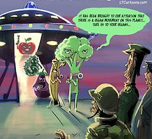 Vegan Space Aliens by Rick  London