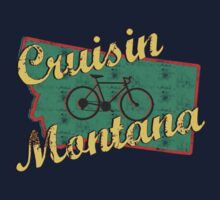Bike Cycling Bicycle Cruising Montana by SportsT-Shirts