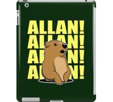 Allan Groundhog iPad Case/Skin