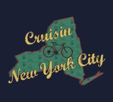 Bike Cycling Bicycle Cruising New York City by SportsT-Shirts