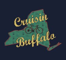 Bike Cycling Bicycle Cruising Buffalo New York by SportsT-Shirts
