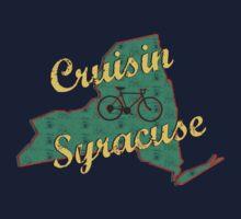 Bike Cycling Bicycle Cruising Syracuse New York by SportsT-Shirts