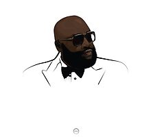 Rick Ross  by Tloweart