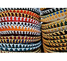 colourful Sombreros Photographic Print