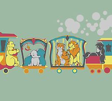 Disney Train by Molly Williams