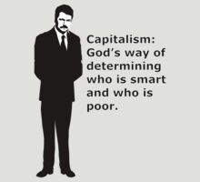 """Swanson, capitalism - quote"" by Sagey94"
