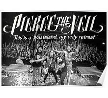 Pierce The Veil - Hell Above Live Performance Poster Poster