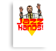 Jazz Hands! Canvas Print