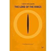 No039 My Lord of the Rings minimal movie poster Photographic Print