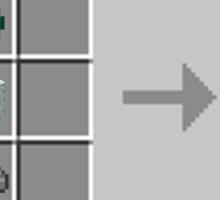 Minecraft Lightsaber Sticker
