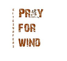 Kitesurfers Pray for Wind Photographic Print