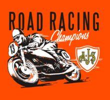 ROAD RACING t-shirt by verde57