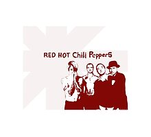 Red Hot Chili Peppers by leagueofshirts
