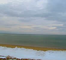 Beach in the Winter 2 by GleaPhotography