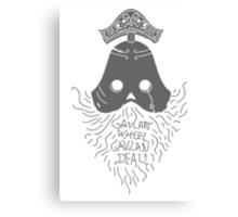 GAVLAN WHEEL, GAVLAN DEAL! (Dark Souls 2) (Dark Gray) Canvas Print