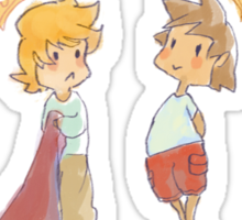 Kingdom Hearts Babies Sticker