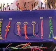 Want a Keychain? Sticker