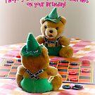 Happy Birthday Card by Susan S. Kline