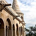 Fisherman's Bastion Parapet by phil decocco