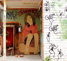 Brunswick Abandoned - Brick. Melbourne by Suzanne Phoenix