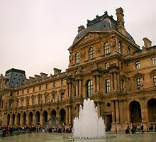 I Love The Louvre by Michael Matthews