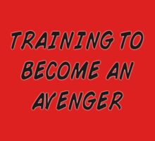 Training to become an Avenger by Raccoon-god