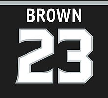 Los Angeles Kings Dustin Brown Phone Case by RussJericho23