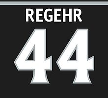 Los Angeles Kings Robyn Regehr Phone Case by RussJericho23