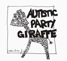 Autistic Party Giraffe by Sparrow Rose Jones
