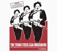 THE TEXAS CHAIN SAW MASSACRE What Happened Was True (2) T-Shirt by horrorkid