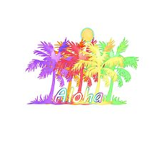 Palm Tree Aloha by ChicPink