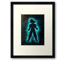 Goku Space Framed Print