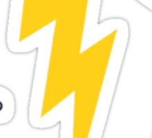 Struck by Lightning Sticker