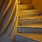 Winding Steps To The Loft by phil decocco