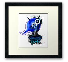 Gamer Luna Framed Print