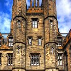New College Gatehouse by Tom Gomez