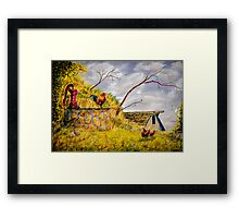 Lord Of The Manor Framed Print