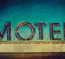 Vintage Motel Sign by Honey Malek