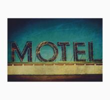 Vintage Motel Sign Kids Clothes