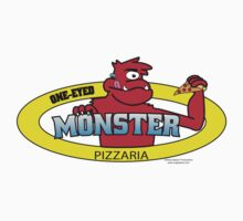 One-Eyed Monster Pizzaria by xraybeaver