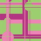 Bubblegum Mint Field by CastleDownpour