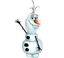 "Olaf the Snowman from ""Frozen"" by PhoebeAnnabel"