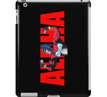 Alpha Prime (Red Text) iPad Case/Skin
