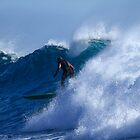 Long Boarder At Snapper Rocks #2 by Noel Elliot